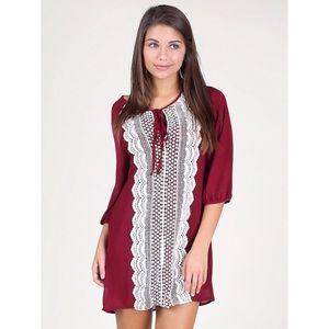 *SALE 2/$15* Altar'd State Plum In Love Dress